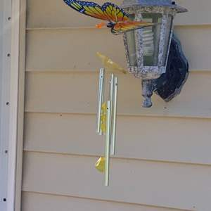 Lot # 806 Butterfly Wind Chime