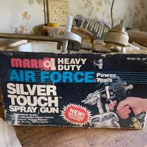 Lot # 823 Silver Touch Spray Gun