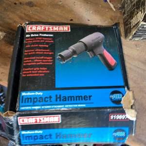 Lot # 824 Craftsman Impact Hammer