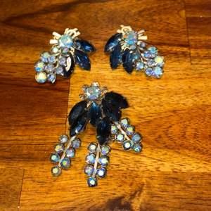 Lot # 853 Matching Earrings & Brooch
