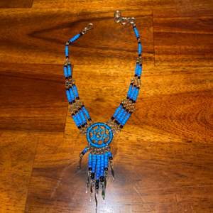 Lot # 857 Beaded Dream Catcher Necklace