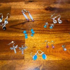 Lot # 861 (10) Pairs of Earrings