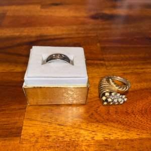 Lot # 862 (2) Fashion Rings