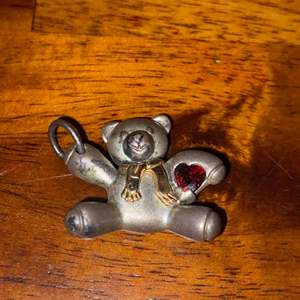 Lot # 867 Adorable Bear Charm Keepsake S925-14K