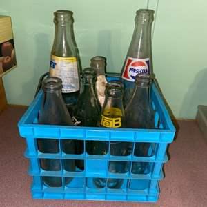 Lot # 878 Vintage Soda Bottles