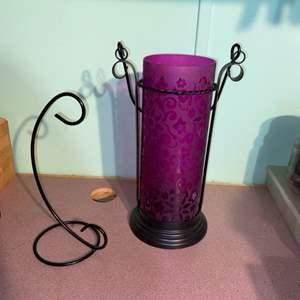 Lot # 881 Beautiful Candle Holder & Hook