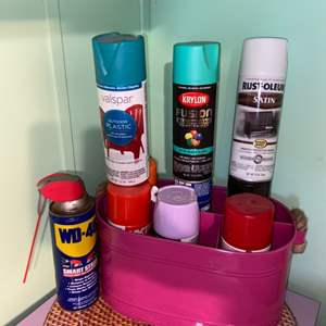 Lot # 886 Spray Paint
