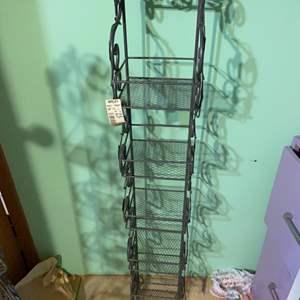 Lot # 890 Wall Storage Shelf