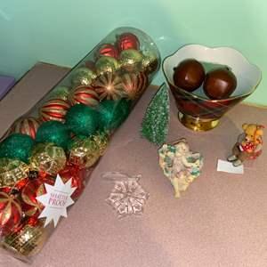 Lot # 893 Christmas Ornaments