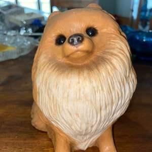 Lot # 897 Sandcastle Pomeranian Figurine