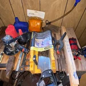 Lot # 903 Garage Tools