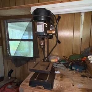Lot # 904 Guardian Power 5 Speed Heavy Duty Drill Press