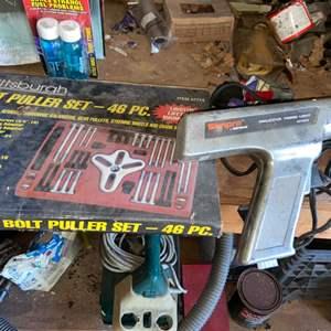 Lot # 926 Heat Gun & More