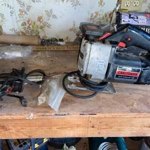 Lot # 927 Craftsman Auto Scroll Saw & More