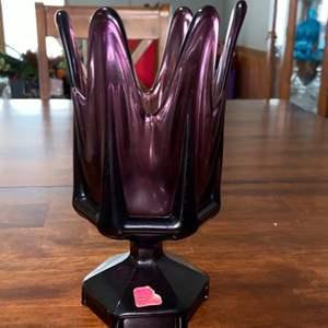 Lot # 935 Viking Glass Vase