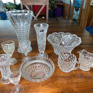 Lot # 939 Crystal & Glassware