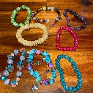 Lot # 962 Fashion Bracelets