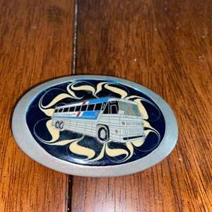 Lot # 975 Vintage Greyhound Belt Buckle