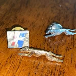 Lot # 976 Vintage Greyhound Pins