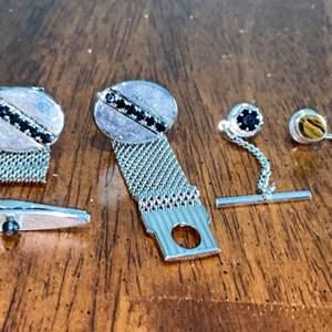 Lot # 977 Pins & Cuff Links