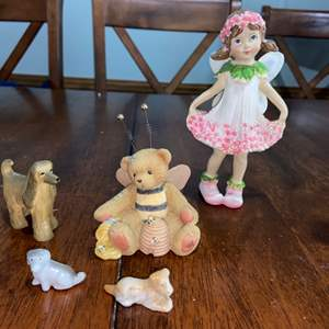 Lot # 984 Pretty Assortment of Figurines