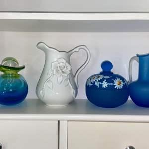 Lot # 996 Beautiful Assortment of Glassware