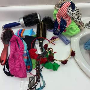Lot # 999 Hair Accessories & Heating Pad