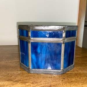 Lot # 1001 Glass Trinket Box