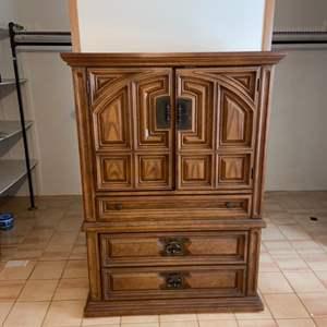 Lot # 1004 Bassett Furniture Wardrobe