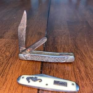 Lot # 1009 (2) Pocket Knives