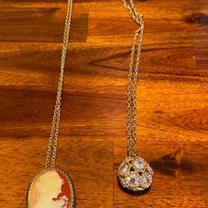 Lot # 1016 (2) Beautiful Necklaces (1 Japan & 1 Sarah Cov)