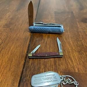 Lot # 1031 Craftsman & Greatland Pocket Knife
