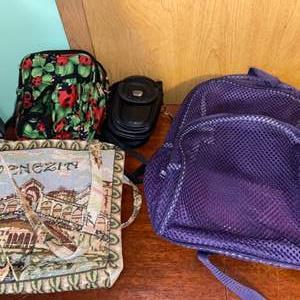 Lot # 1070 Eastport Backpack & More Bags