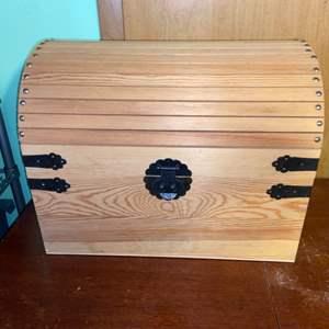 Lot # 1076 Large Crafting Box