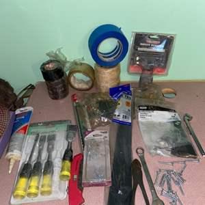 Lot # 1088 Misc Tools & Supplies