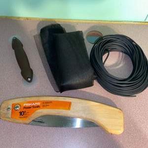 Lot # 1092 Fiskars Saw & Screen Repair Supplies