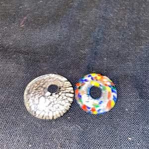 Lot # 1102 (2) Round Pendants