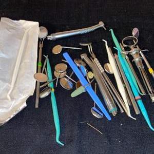 Lot # 1105 Dental Tools