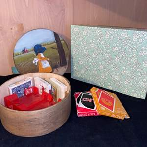 Lot # 1106 Nesting Boxes, Games & More