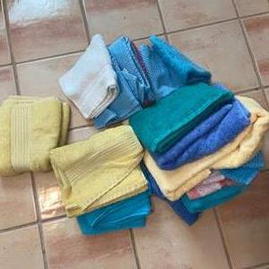 Lot # 1123 Colorful Hand Towels