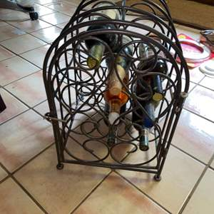 Lot # 1144 Wine Rack (contents not included)