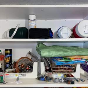Lot # 1164 Batteries, Thermos & More
