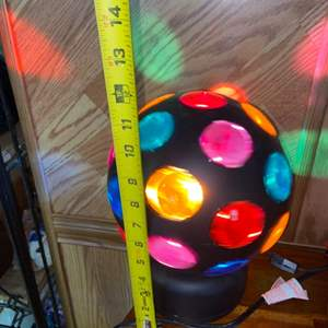 Lot # 1172 Blast from the Past!  Disco Ball Light