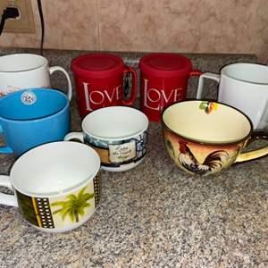 Lot # 1182 Coffee Mugs