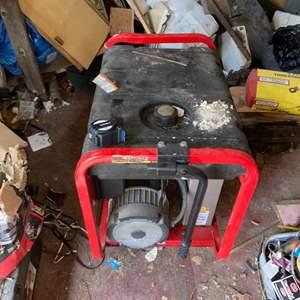 Lot # 1189 Troy-Bilt 5550 Watt Generator Model #01919