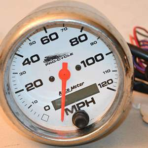 Lot # 23 PRO-CYCLE motorcycle speedometer