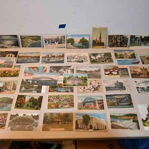 Lot # 38 Vintage postcards Ohio and misc