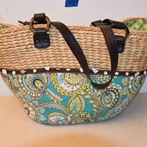 Lot # 61 VERA BRADLEY beach bag
