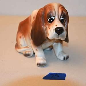 Lot # 75 NAPCOWARE #261 Japan Basset Hound dog planter