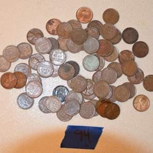 Lot # 94 WHEAT PENNIES LOT 212+ grams